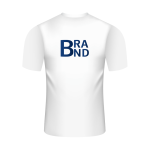 T-Shirt with Large Logo